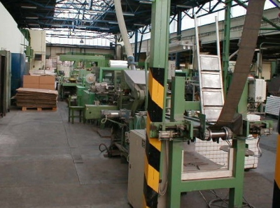 Packing line for welding electrodes